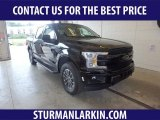 2019 Agate Black Ford F150 Lariat SuperCrew 4x4 #134588819