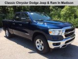 2019 Patriot Blue Pearl Ram 1500 Big Horn Quad Cab 4x4 #134588886