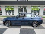 2019 Mediterranean Blue Metallic BMW 3 Series 330i Sedan #134588873