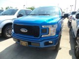 2019 Velocity Blue Ford F150 STX SuperCrew 4x4 #134602135