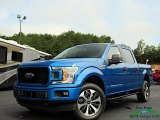 2019 Velocity Blue Ford F150 STX SuperCrew 4x4 #134601868