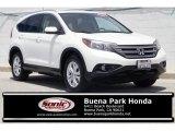 2012 White Diamond Pearl Honda CR-V EX-L #134623185