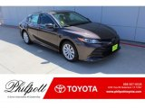 2019 Brownstone Toyota Camry LE #134623201