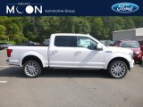 2019 White Platinum Ford F150 Limited SuperCrew 4x4 #134641027