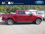 2019 Ruby Red Ford F150 Lariat SuperCrew 4x4 #134641025