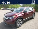 2019 Basque Red Pearl II Honda CR-V LX AWD #134641010