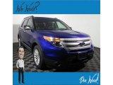 2013 Deep Impact Blue Metallic Ford Explorer XLT 4WD #134641096
