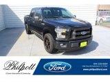 2016 Shadow Black Ford F150 XL SuperCrew #134641055