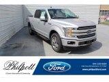 2019 Ingot Silver Ford F150 Lariat SuperCrew #134641045