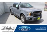 2019 Abyss Gray Ford F150 XLT SuperCrew #134641044