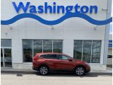 2019 Basque Red Pearl II Honda CR-V EX-L #134666426