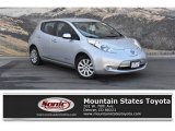 2013 Brilliant Silver Nissan LEAF S #134666345
