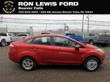 2019 Hot Pepper Red Ford Fiesta SE Sedan #134708920