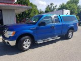 2011 Blue Flame Metallic Ford F150 XLT SuperCab #134726278