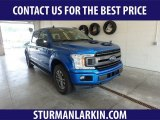 2019 Velocity Blue Ford F150 XLT SuperCrew 4x4 #134726072