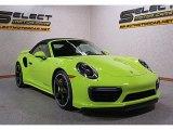 2018 Porsche 911 Paint To Sample Acid Green