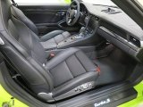 2018 Porsche 911 Turbo S Cabriolet Front Seat