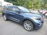 2020 Ford Explorer Limited 4WD Front 3/4 View