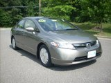 2006 Galaxy Gray Metallic Honda Civic Hybrid Sedan #13456816