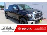 2019 Midnight Black Metallic Toyota Tundra SR5 CrewMax 4x4 #134784403