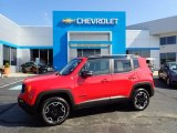 2017 Colorado Red Jeep Renegade Trailhawk 4x4 #134791134