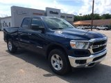 2019 Patriot Blue Pearl Ram 1500 Big Horn Quad Cab 4x4 #134809296