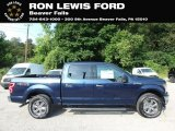 2019 Blue Jeans Ford F150 XLT SuperCrew 4x4 #134809173