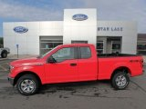 2019 Race Red Ford F150 XL SuperCab 4x4 #134826287