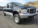 2002 Black Ford F250 Super Duty Lariat SuperCab 4x4 #134826157