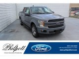 2019 Abyss Gray Ford F150 Lariat SuperCrew #134826124