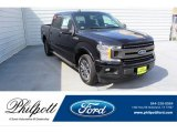 2019 Agate Black Ford F150 XLT SuperCrew #134826121