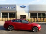 2017 Ruby Red Ford Fusion SE AWD #134852257