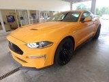 2019 Ford Mustang Orange Fury