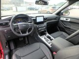 2020 Ford Explorer Limited 4WD Ebony Interior
