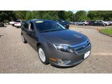 2011 Sterling Grey Metallic Ford Fusion Hybrid #134889582