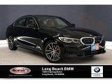 2019 Jet Black BMW 3 Series 330i Sedan #134889542