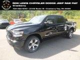 2020 Diamond Black Crystal Pearl Ram 1500 Laramie Crew Cab 4x4 #134898710