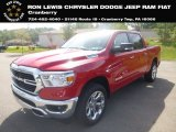 2020 Flame Red Ram 1500 Big Horn Crew Cab 4x4 #134898709