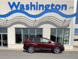 2019 Basque Red Pearl II Honda CR-V EX-L #134898733