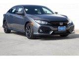 2019 Polished Metal Metallic Honda Civic Sport Hatchback #134926849