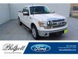 2011 White Platinum Metallic Tri-Coat Ford F150 Lariat SuperCab #134926869
