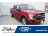 2019 Ruby Red Ford F150 XLT SuperCrew #134926862