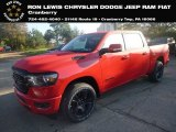2020 Flame Red Ram 1500 Big Horn Night Edition Crew Cab 4x4 #134948633