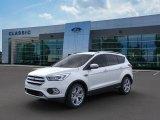 2019 White Platinum Ford Escape Titanium 4WD #134948924