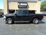 2010 Brilliant Black Crystal Pearl Dodge Ram 1500 ST Quad Cab 4x4 #134949046