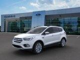White Platinum Ford Escape in 2019