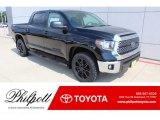 2020 Midnight Black Metallic Toyota Tundra TSS Off Road CrewMax #134997749