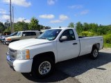 2009 Summit White Chevrolet Silverado 1500 Regular Cab 4x4 #135015774