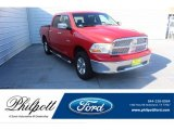 2009 Flame Red Dodge Ram 1500 SLT Crew Cab #135015818