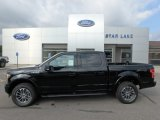2019 Agate Black Ford F150 XLT SuperCrew 4x4 #135032763